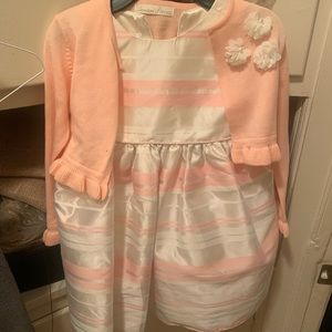 New toddler girl formal dress 4t